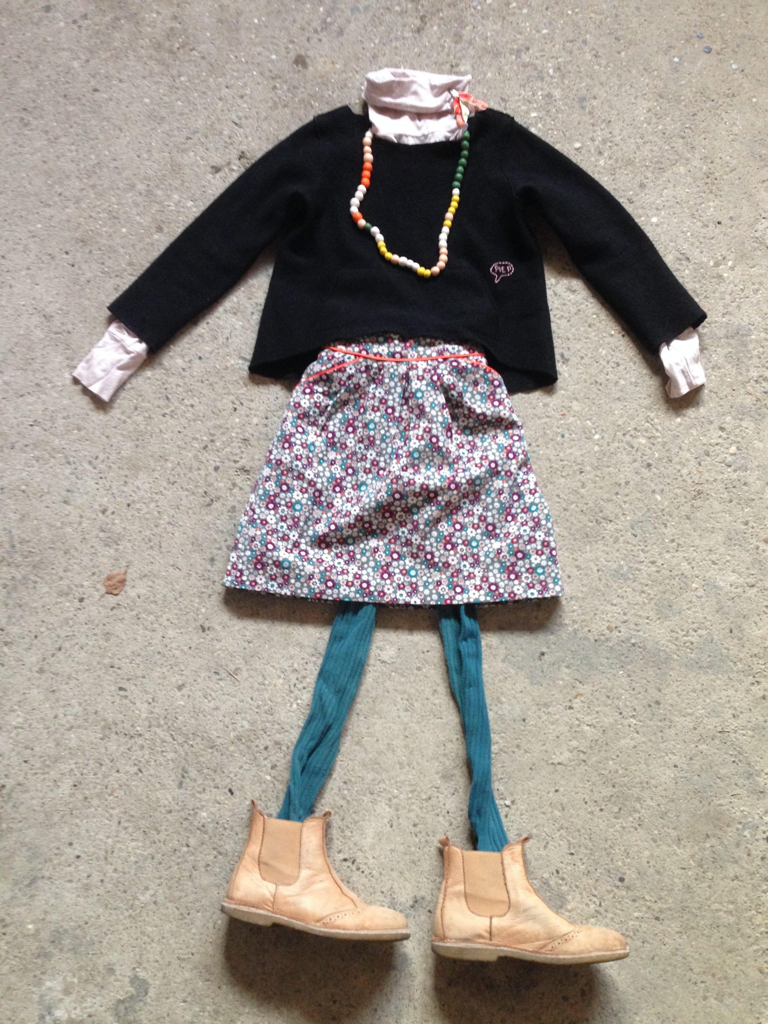 kleinformat mini perle rock Attaka pulloverschnitt