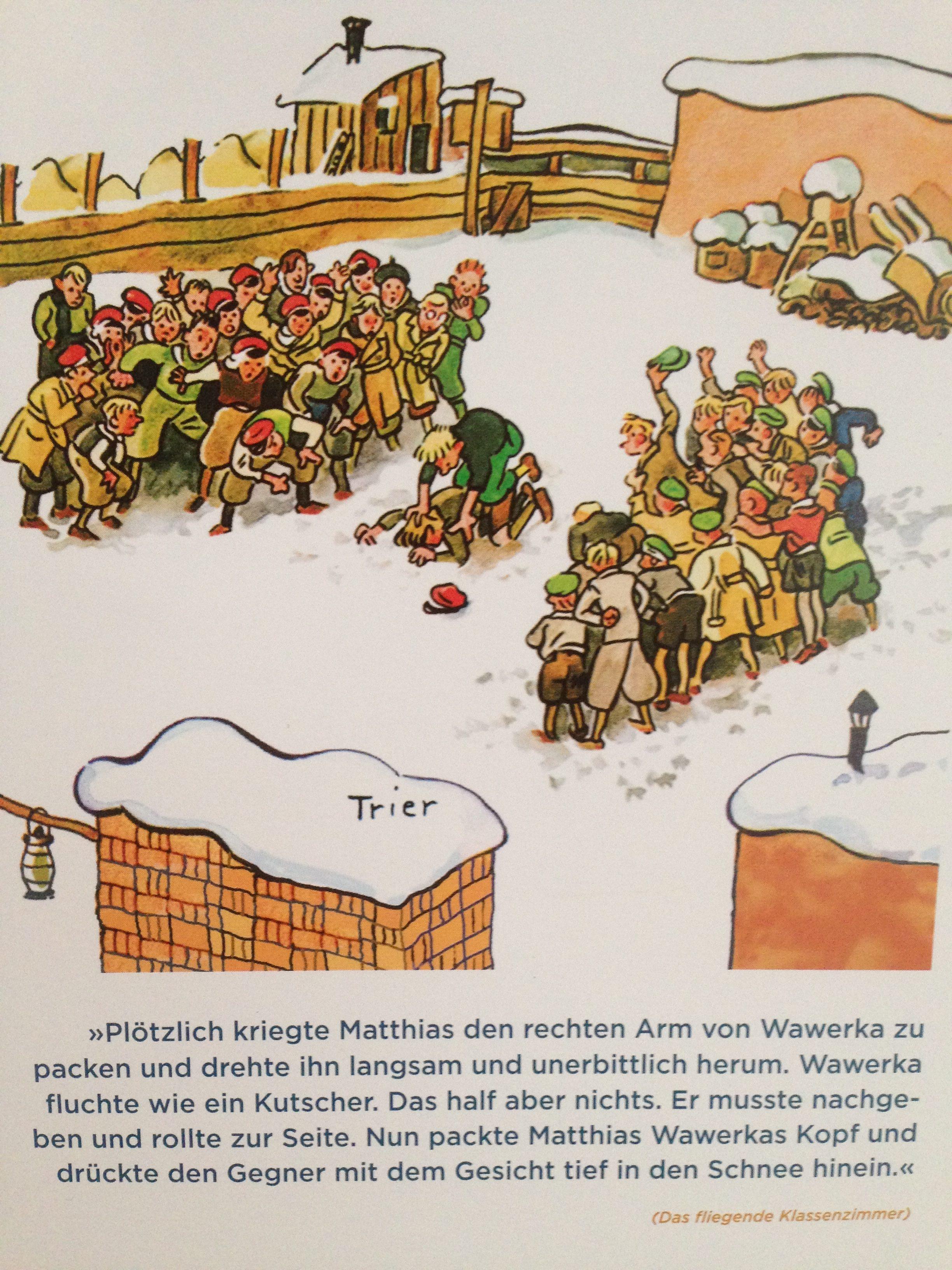 Erich Kästner Buben raufen Das fliegende Klassenzimmer